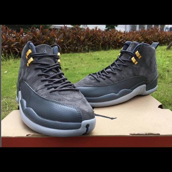 3b0b5b8e3c8e68 Air Jordan 12 dark grey